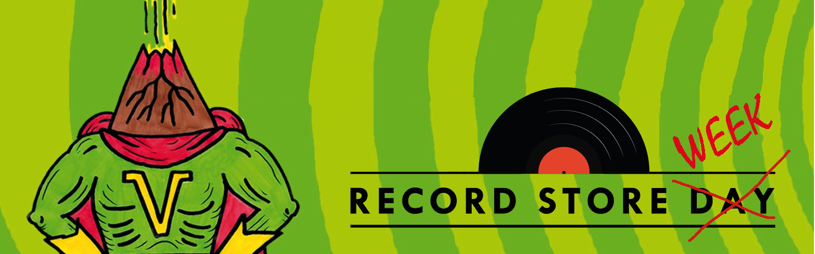 Record Store Day 2018 El Volcán
